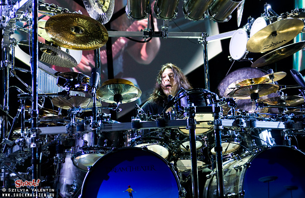 Dream Theater - Mike Mangini 2012